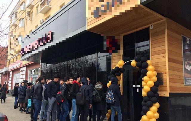 В Уфе студенты штурмом берут одно из кафе