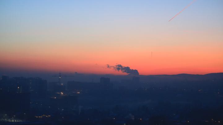 «У нас хороший воздух»: экологи прокомментировали ситуацию со смогом в Красноярске