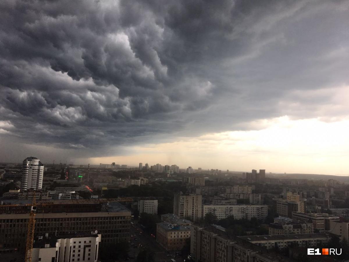 Эту фотографию прислала читательница Е1.RU Татьяна