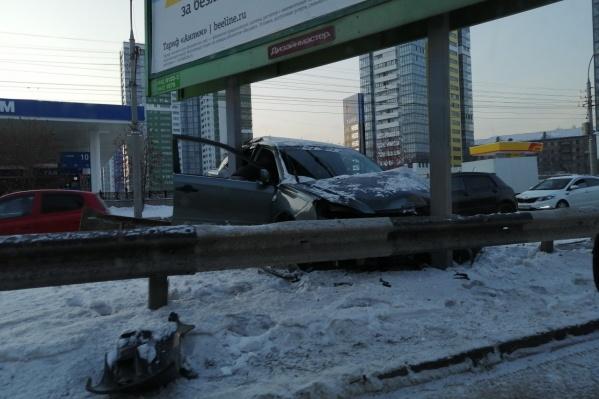 ГИБДД не располагает информацией о пострадавших в этой аварии