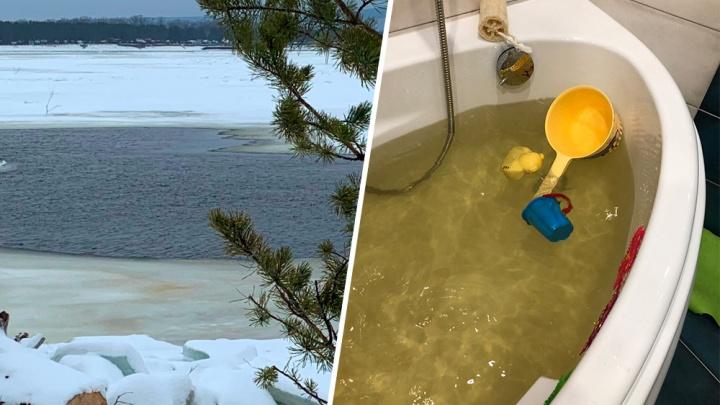 В Самаре объявили, когда из кранов в жилых домах перестанет течь желтая вода