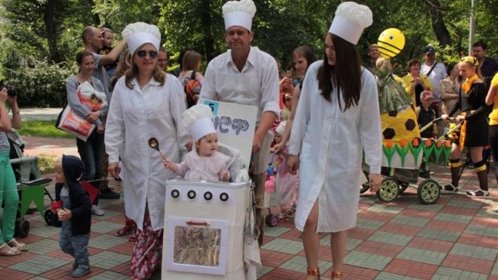 Парад детских колясок пройдет в День рождения Кургана