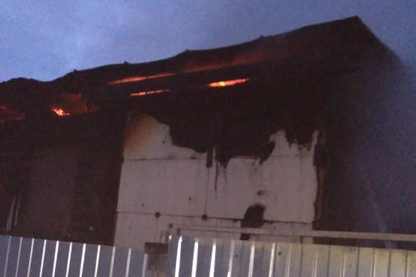 В Уфе двое детей пострадали при пожаре в дачном домике