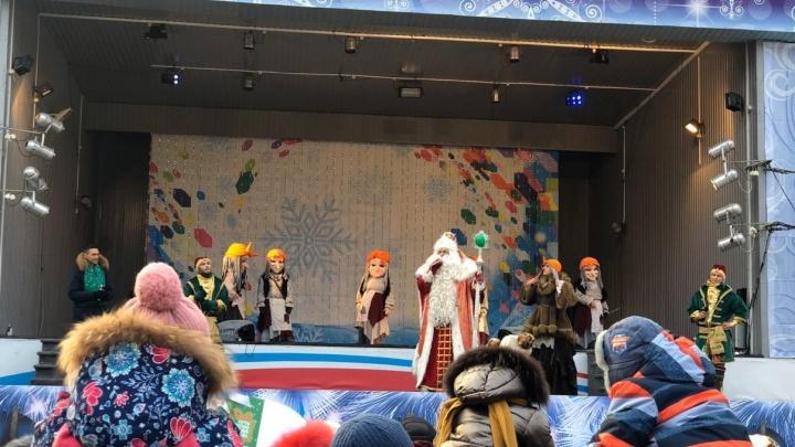 Новогодний «круиз» Бабы-яги продолжился в Екатеринбурге