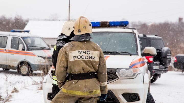 Огонь было видно издалека: сегодня утром в ярославском ПАТП сгорел автобус