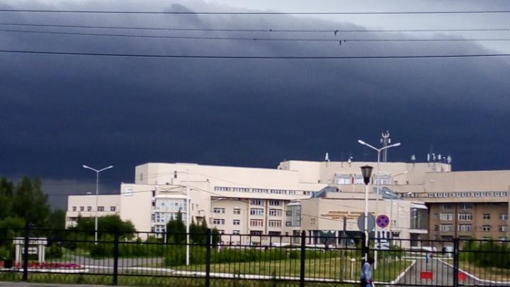 В Курганской области 22 июля возможны град и шквалистый ветер