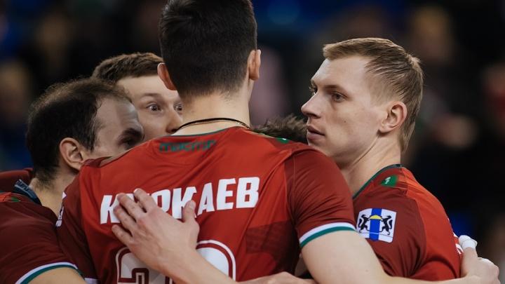 Волейбол: «Локомотив» одержал победу над «Динамо» из Ленинградской области