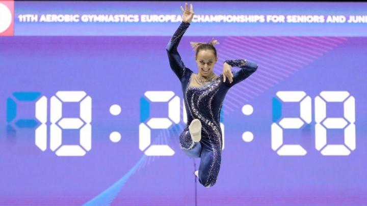 Спортсменка из Новосибирска впервые завоевала медаль на чемпионате Европы по аэробике