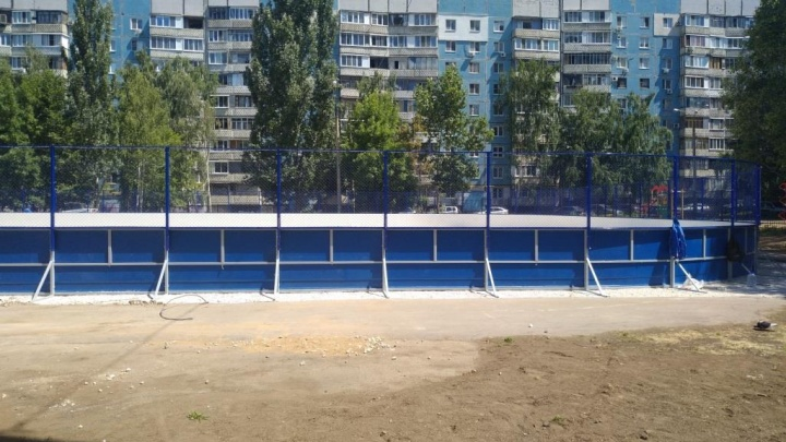 ЗОЖ со школьной скамьи: до конца года в регионе построят 20 спортплощадок