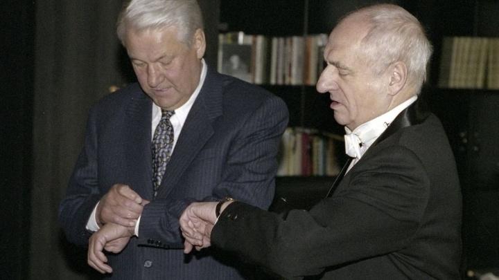 Наина Ельцина о Марке Захарове: «Мы откровенно говорили о жизни и о политике»