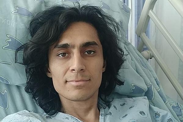 Уфимца госпитализировали на неотложке
