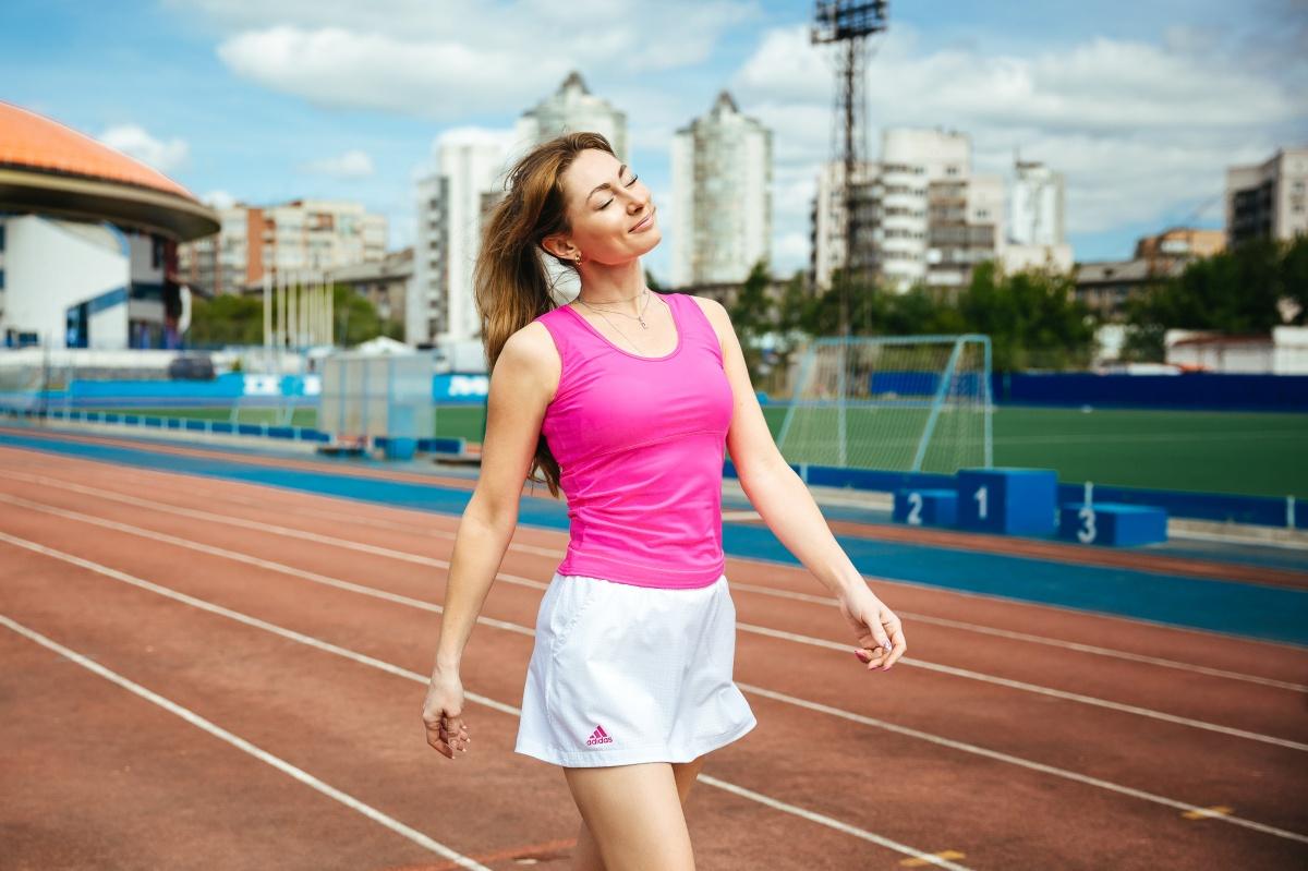 Она мечтает пробежать полный марафон в Барселоне, и у нее точно получится!