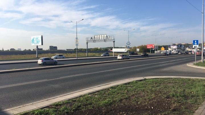 В Самаре 25 августа перекроют дублер Московского шоссе и несколько улиц поблизости