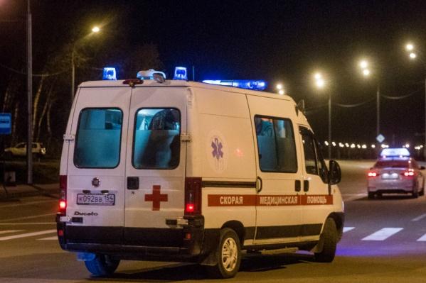 Когда на место ДТП приехали медики, пострадавший ещё был жив