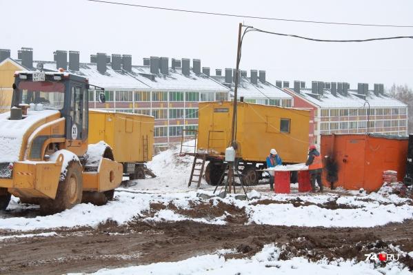 Строительство президентского посёлка уже началось