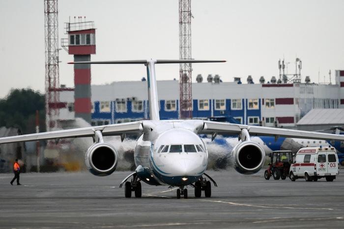 СамолётАн-148 авиакомпании «Ангара»