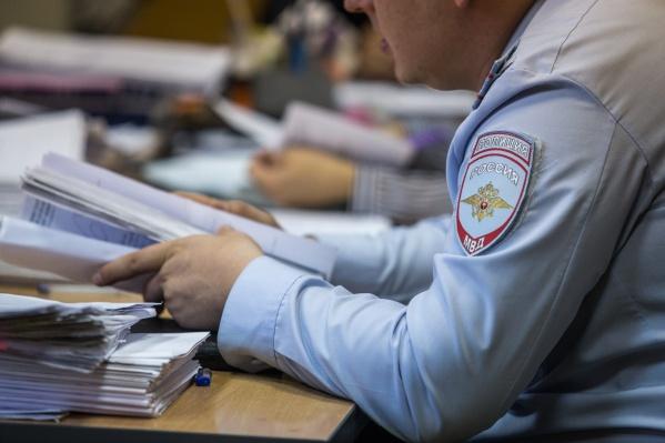 В полиции еще устанавливают нанесённый подозреваемым ущерб
