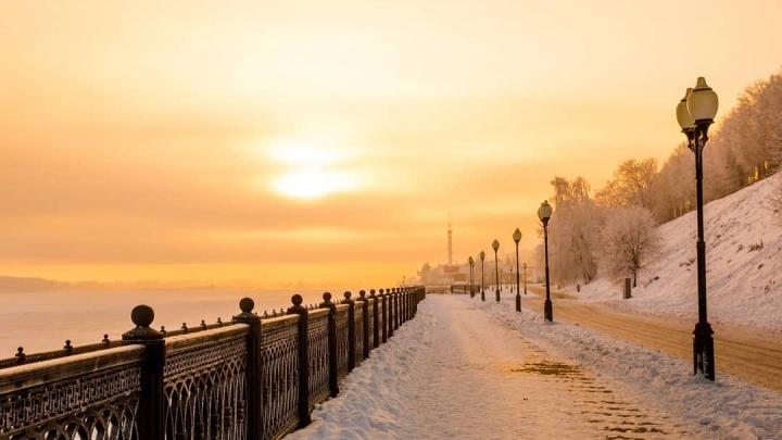 В ночь после Рождества в Ярославль придут морозы и сильная гололедица