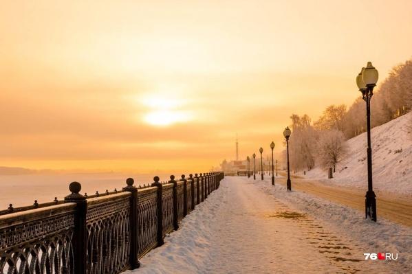 Ночи в Ярославле будут морозными