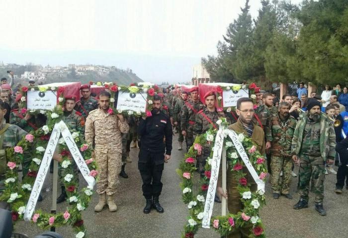 Во время боя погибло около сотни бойцов
