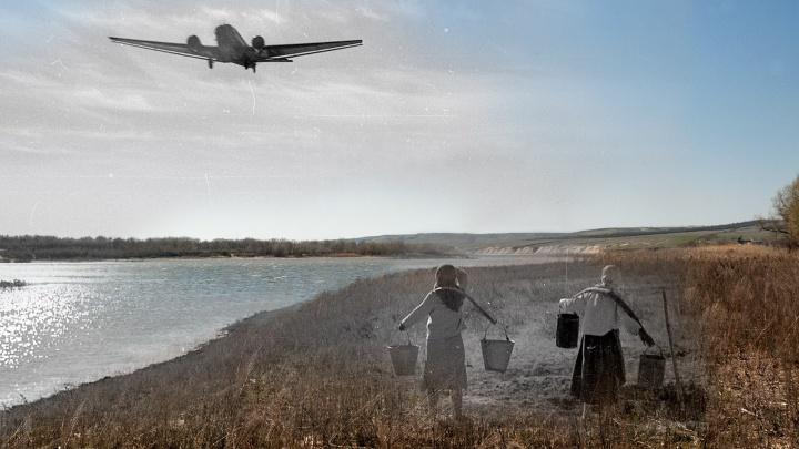 Война под твоими ногами: волгоградский фотограф вернул Сталинград в мирные степи