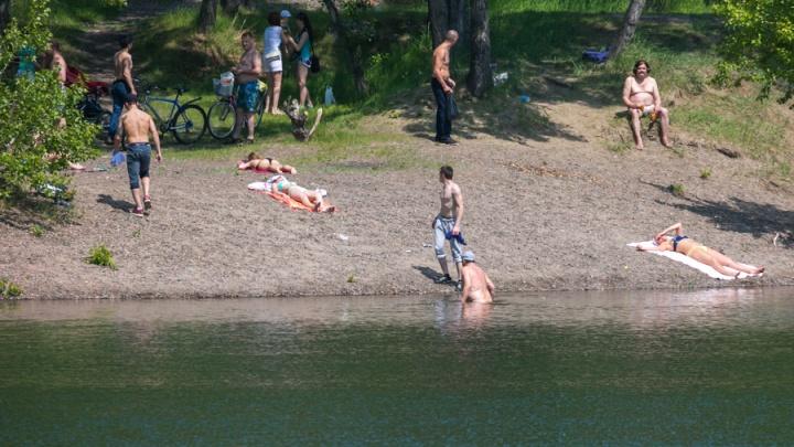 Красноярские пляжи начали работу без нужного разрешения и экспертиз