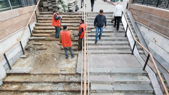 «Готовьтесь к расторжению контракта»: врио мэра Челябинска высказалась о ремонте подземных переходов