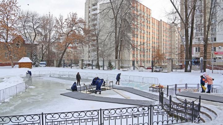 В Уфе в саду Аксакова впервые готовят крещенскую купель