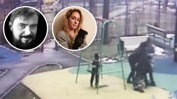 Плохое кино: режиссер с бывшей женой подрались на детской площадке — теперь это видео обсуждает вся страна