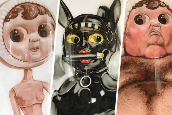 Это человеческие пороки в образе кукол