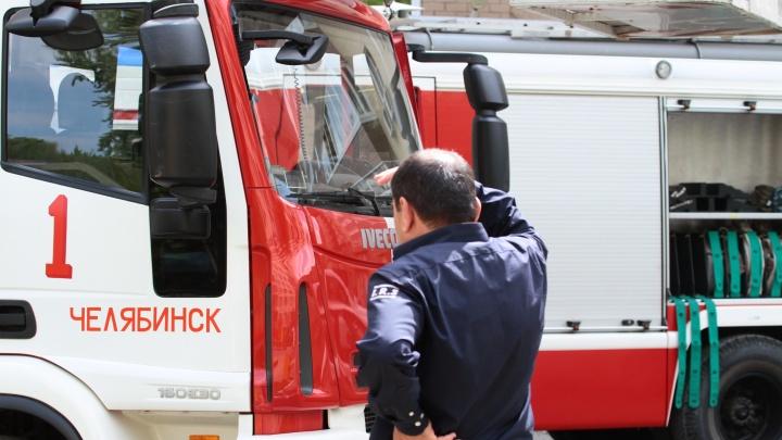Из школы под Челябинском из-за пожара эвакуировали 400 человек