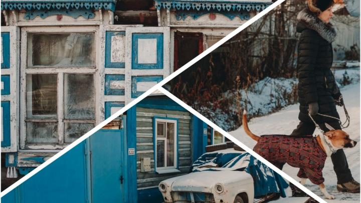 Столица деревень в глубине Тюмени: гуляем по Степным переулкам (их аж 8) среди старых домов