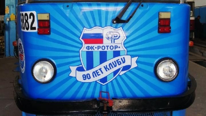 «Хотим снимки легенд в салон!»: трамвай «Ротора» отправился по маршруту Площадь Чекистов — ВГТЗ