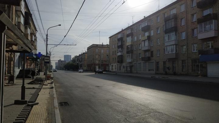 За отсутствие ограждений при ремонте улицы Ленина с подрядчика требуют 100 тысяч штрафа