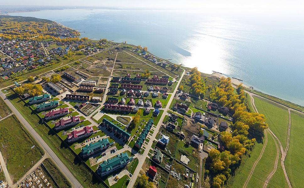 Обнаружены низкие цены на участки на берегу Обского моря в 10 минутах езды от города