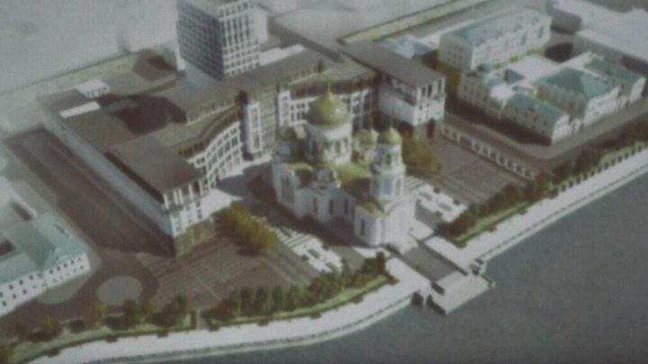 В финальном списке осталось три площадки под собор Святой Екатерины: голосование E1.RU