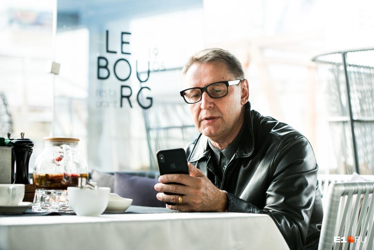 Олег Ананьев признался, что впервые в жизни написал резюме, в котором указал открытые им рестораны