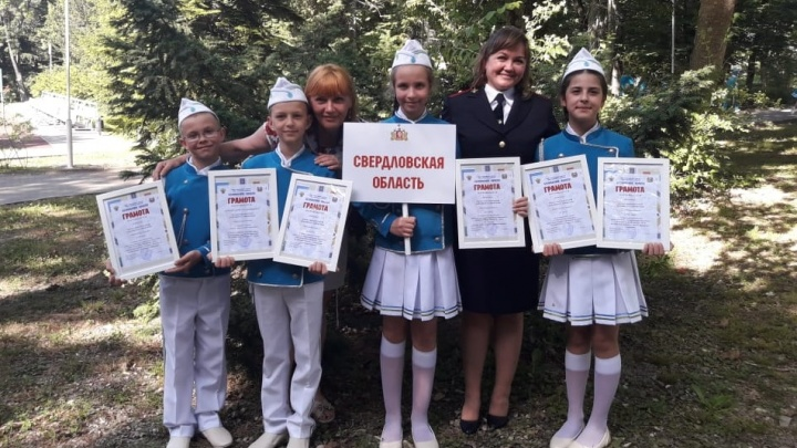 Юные инспекторы дорожного движения из Свердловской области вошли в десятку лучших в России