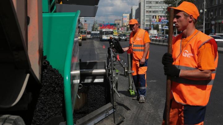 Дорожники раньше срока отремонтировали две крупные магистрали Новосибирска
