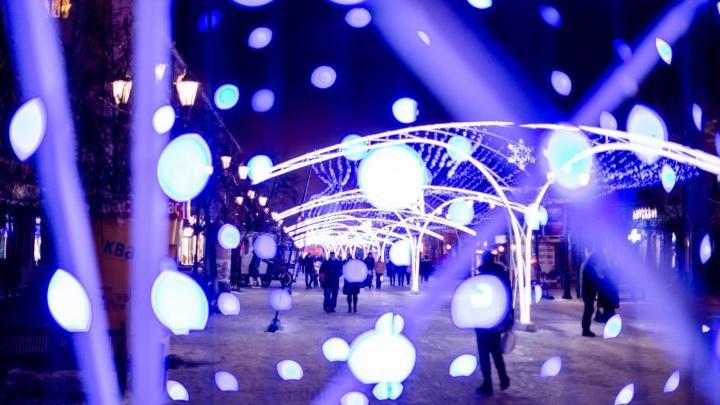 Снежинки, звёзды и зимние волны: Челябинск начинают готовить к Новому году