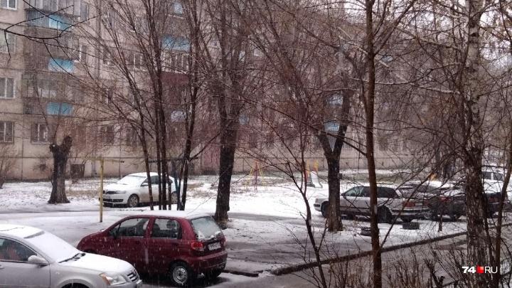 Синоптики предупреждали: Южный Урал накрыл апрельский снегопад