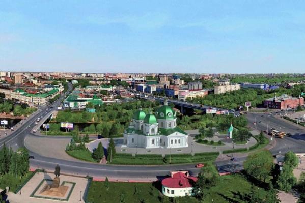 По плану Полежаева, памятник Ленину нужно передвинуть поближе к «Яблоньке», а на Ленинской горке построить храм