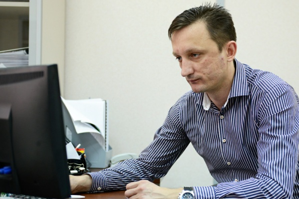 Директор агентства недвижимости «Чистая Слобода» Алексей Дмитриевич Черкасов