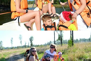 Летняя программа отдыха на воде и на суше от базы «Русский Дом»