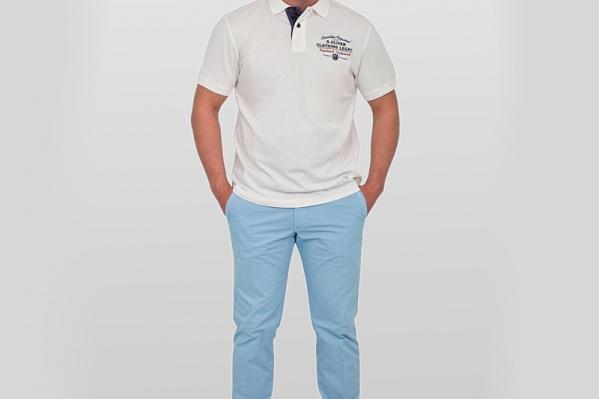 Высокое качество ткани делает рубашку-поло незаменимым предметом гардероба. Брюки СINQUE <price>6400 руб.</price>, поло s.Oliver <price>2200 руб.</price>