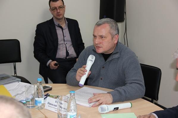 Николай Кутьин, президент Национального объединения строителей (НОСТРОЙ)