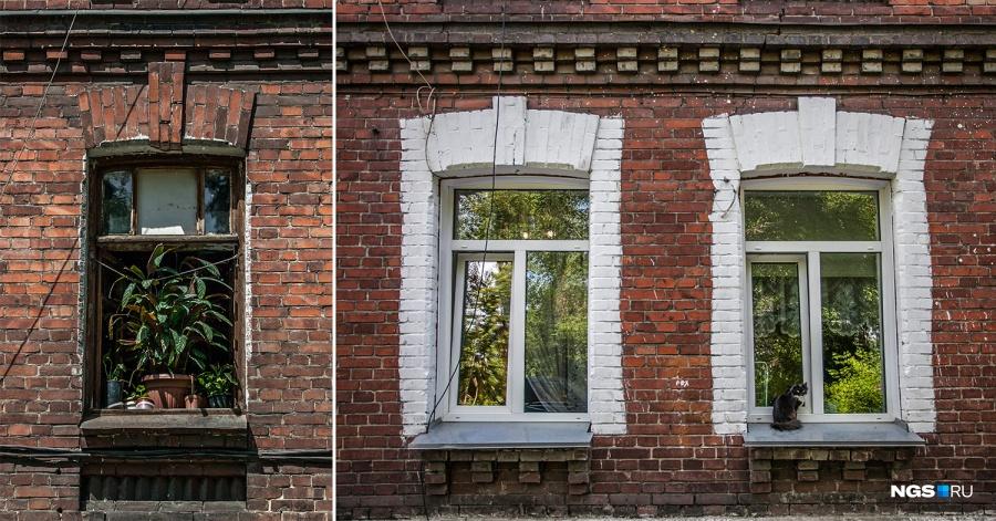 Местные жители переживают, что из-за статуса памятника архитектуры их заставят поменять пластиковые окна обратно на деревянные — чтобы вернуть домам изначальный облик.