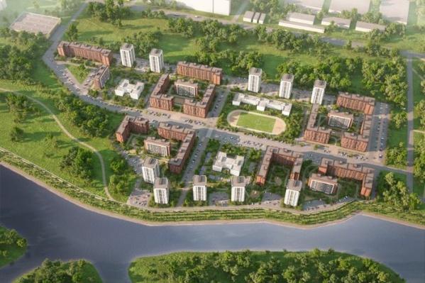 Микрорайон «Европейский Берег» будет состоять из 26 домов