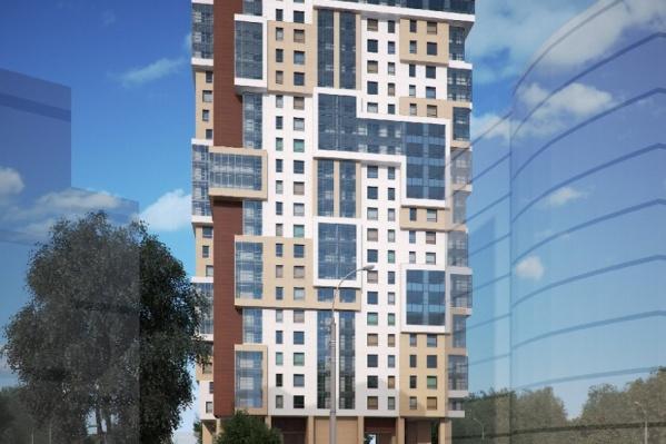 Жилой дом «Кларус-Парк» станет одной из самых оригинальных новостроек города