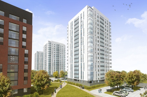 Первые дома микрорайона «Европейский берег» будут сданы в конце 2012 - начале 2013 года